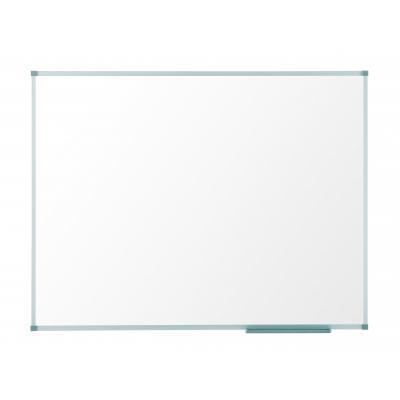 Nobo whiteboard: Classic Whiteboard (2100x1200), gelakt staal met aluminium lijst, magnetisch - Wit