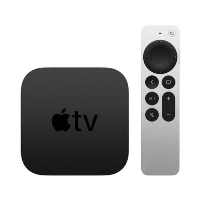 Apple TV 4K - Zwart,Zilver
