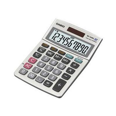 Casio calculator: BUREAU CALCULATOR MS100MS 10 CIJFERS, LCD