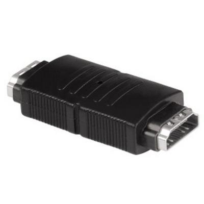 Hama HDMI F/F Kabel adapter - Zwart