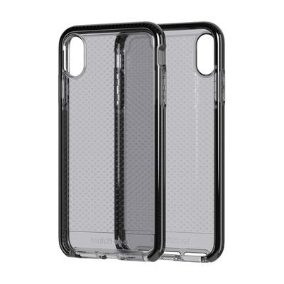 Innovational Evo Check Mobile phone case - Zwart, Transparant