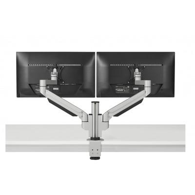 BakkerElkhuizen Premium Office Dual Monitorarm - Zilver
