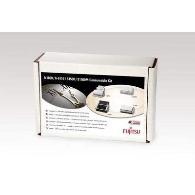 Fujitsu Set met verbruiksartikelen voor fi-6110, N1800, ScanSnap S1500 Deluxe, ScanSnap S1500, ScanSnap S1500M .....