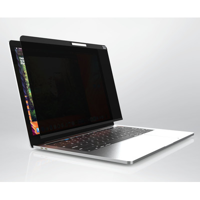 PanzerGlass Magnetic Privacy 13'' MacBook Air/Pro Edge-to-Edge Privacy CamSlider Schermfilter - Transparant