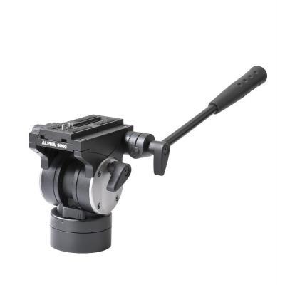 Cullmann statiefkop: ALPHA 9000VH - Zwart
