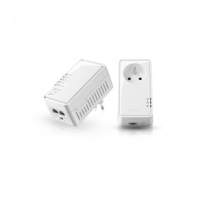 Sitecom powerline adapter: LN-555FR Wi-Fi Socket Homeplug Kit 500 Mbps - Wit