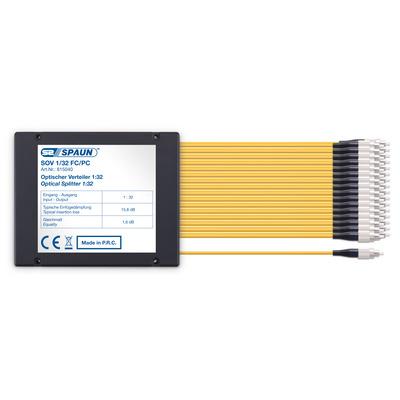 Spaun 815040 Kabel splitter of combiner - Zwart