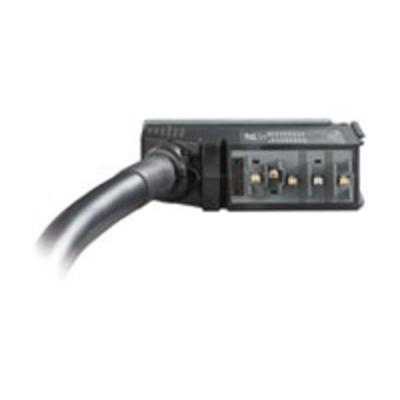 Apc energiedistributie: IT Power Distribution Module 3 Pole 5 Wire 63A IEC309 500cm - Zwart