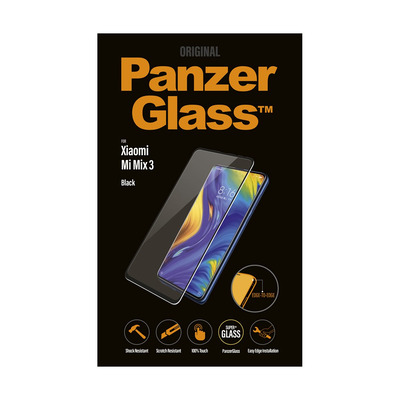 PanzerGlass Xiaomi Mi Mix 3 Edge-to-Edge Screen protector - Transparant