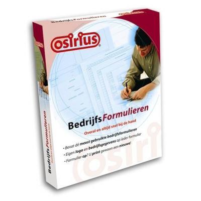 Osirius software suite: Osirius, BedrijfsFormulieren Pro