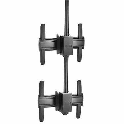 Chief FUSION Large Ceiling Mounted 1 x 2 Stacker TV standaard - Zwart