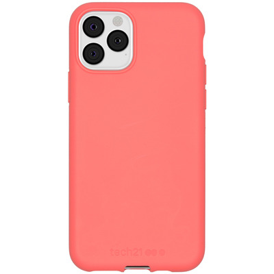 Antimicrobial Backcover iPhone 11 Pro - Coral - Koraal Mobile phone case