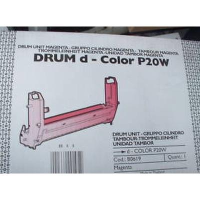 Olivetti Drum, 20.000 pages, Magenta Drum