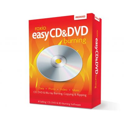 Corel software: Easy CD & DVD Burning