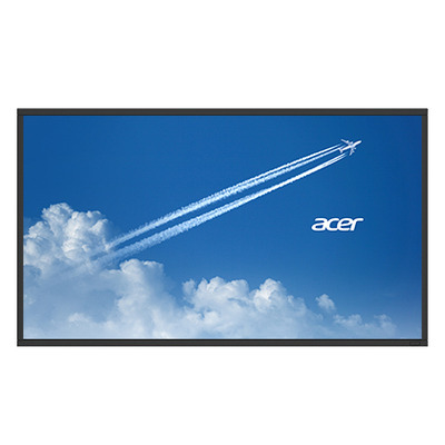 Acer public display: DV433bmidv - Zwart