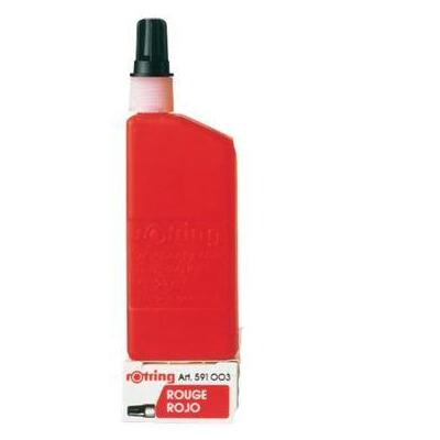 Rotring : Isograph ink, 23 ml, Red - Rood