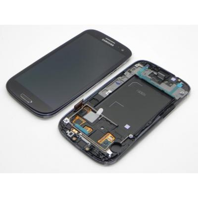 Samsung mobile phone spare part: GT-I9305 Galaxy S3 LTE, display, touchscreen, black