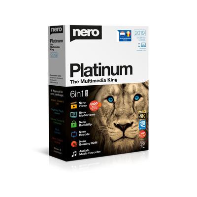 Nero 2019 Platinum algemene utilitie