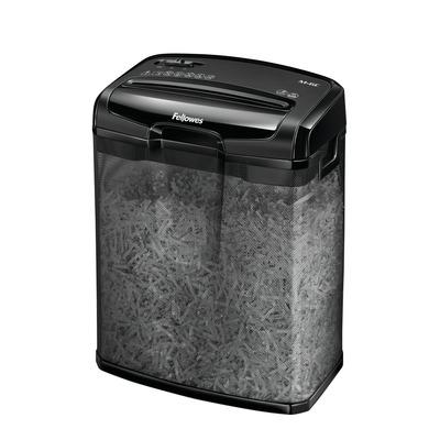 Fellowes papierversnipperaar: Powershred M-6C - Zwart