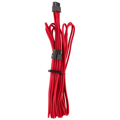 Corsair Premium Individually Sleeved EPS12V/ATX12V Cables Type 4 Gen 4, Red - Rood