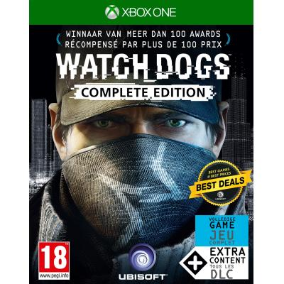 Ubisoft game: Watch Dogs (Complete Edition)  Xbox One