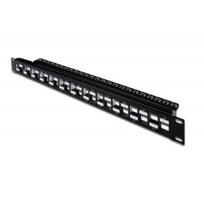 Assmann electronic patch panel: DN-91412 - Zwart