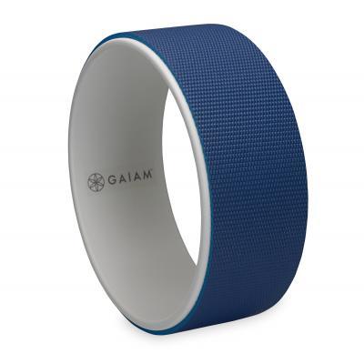 Gaiam fitness, gymnastiek & gewichtstraining: Yoga Wheel - Blauw