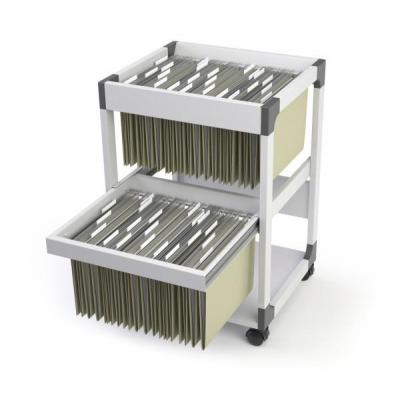 Durable System File Trolley 80 Multi Duo