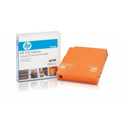 Hewlett Packard Enterprise HP Ultrium Universal Cleaning Cartridge reinigingstape - Oranje