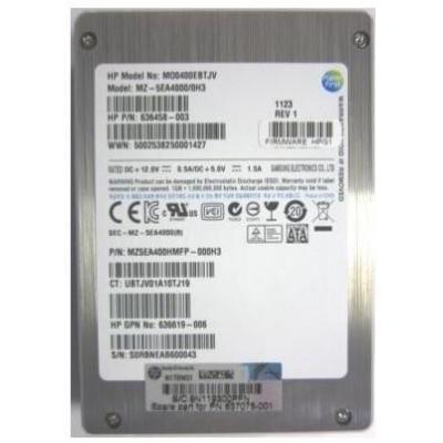 Hewlett Packard Enterprise 637075-001 solid-state drives