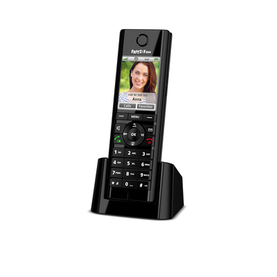 AVM FRITZ!Fon C5 International Dect telefoon - Zwart