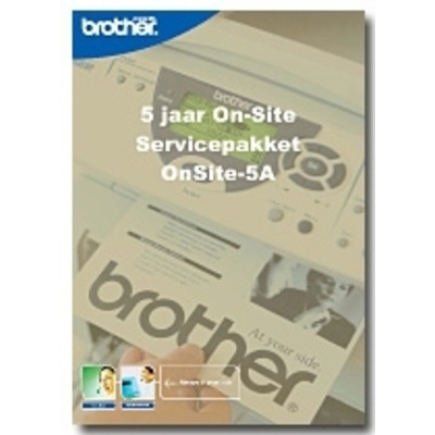 Brother Service Pack: OnSite-5A Garantie