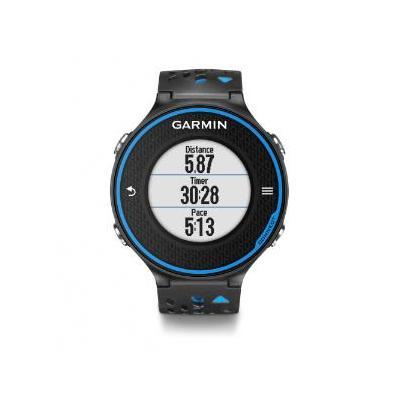 """Garmin sporthorloge: 2.54 cm (1.0 """") , lithium-ion, 1000 laps, VO₂, black - blue - Zwart, Blauw"""