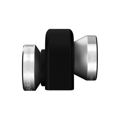 Olloclip : 4-in-1 - Zwart, Zilver