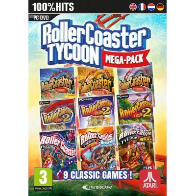 Mindscape game: RollerCoaster Tycoon Mega Pack  PC