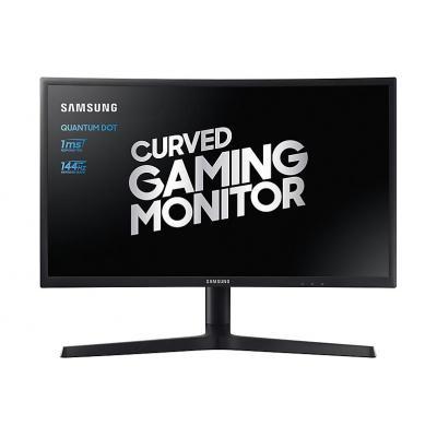 Samsung monitor: C24FG73 LED - Zwart