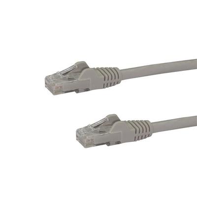 StarTech.com 30,4 m Cat6 met snagless RJ45 connectors grijs Netwerkkabel