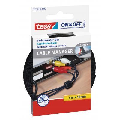 Tesa kabelbinder: 55239 - Zwart