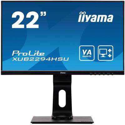 "Iiyama ProLite XUB2294HSU-B1 21,5"" Full HD VA - Business Monitor - Zwart"