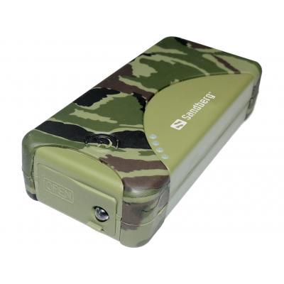 Sandberg powerbank: Outdoor Powerbank 5200 mAh - Camouflage
