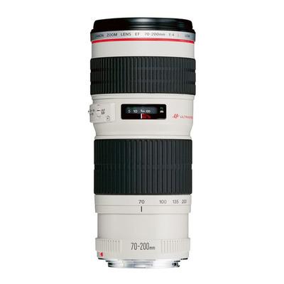 Canon camera lens: EF 70-200mm f/4.0L USM - Wit