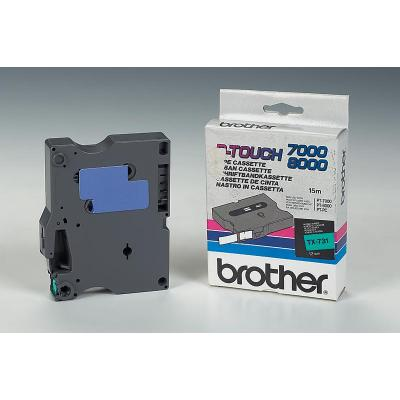 Brother TX-731 labelprinter tape