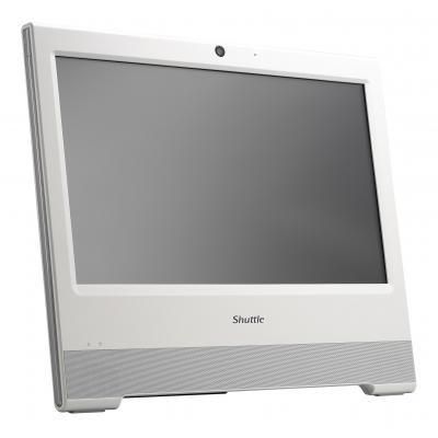 Shuttle barebone: Barebone All-in-One fanless 15.6i touchscreen White:CEL/2957U/max1x8GB SO-DIMM DDR3L .....
