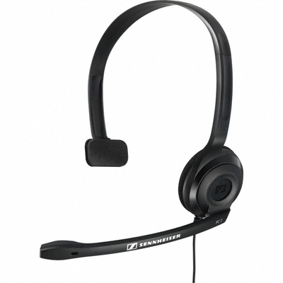 Sennheiser headset: PC2 Chat - Zwart