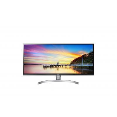 """LG UltraWide 34WK650-W 34"""" FHD IPS Monitor - Zwart, Wit"""
