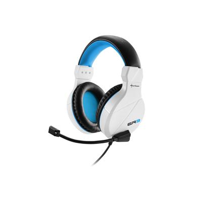 Sharkoon RUSH ER3 Headset - Zwart, Blauw, Wit