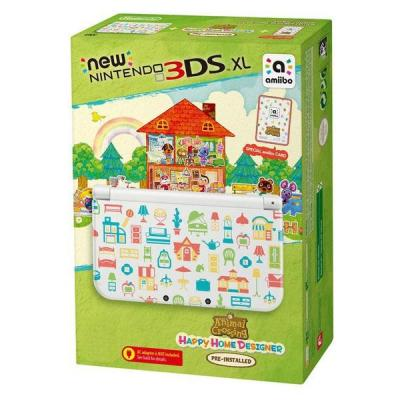 Nintendo portable game console: New  3DS XL Animal Crossing: Happy Home Designer Edition - Wit