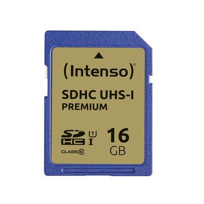 Intenso 16GB SDHC Flashgeheugen