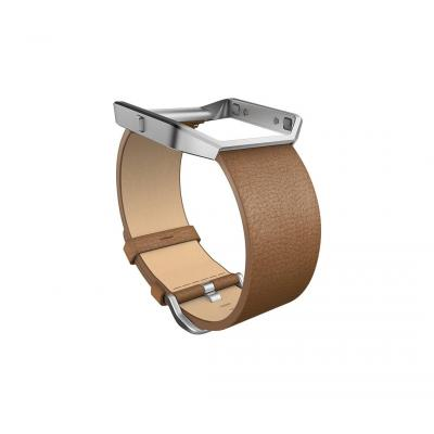 "Fitbit : FB159LBCMS, Small, 1.58'', 5.5""-6.7"""", leather - Bruin"