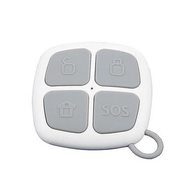 Olympia Remote Control Secure, 3 Buttons & SOS/Panic-Button Afstandsbediening - Grijs, Wit